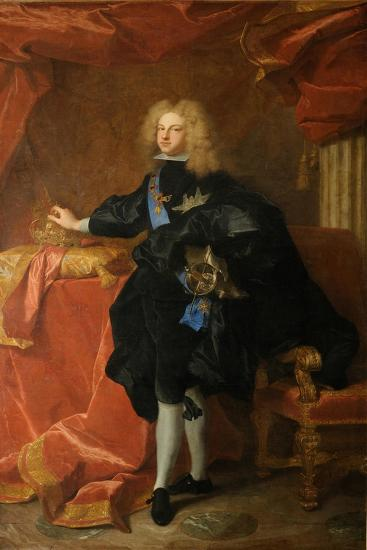 Philip V, King of Spain (1683-174), 1701-Hyacinthe François Honoré Rigaud-Giclee Print