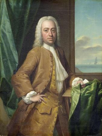 Portrait of Isaac Parker, Merchant from Middelburg