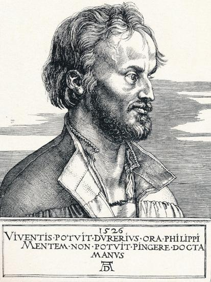 Philipp Melanchthon, 1526-Albrecht D?rer-Giclee Print