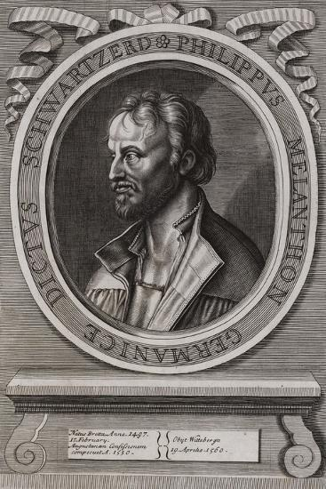 Philipp Melanchthon, German Theologian of the Protestant Reformation--Giclee Print