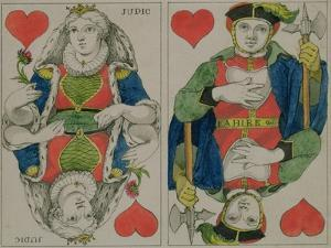 Design for Playing Cards, circa 1810 by Philipp Otto Runge