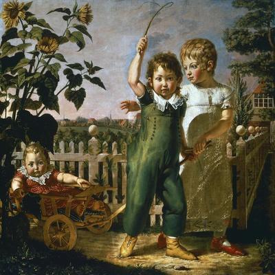 Hulsenbeck Children, 1805