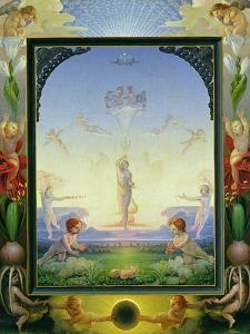 Morning, 1808 by Philipp Otto Runge