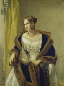 Portrait of Freifrau Von Bernus, 1838 by Philipp Veit