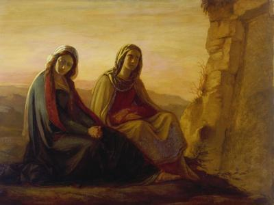 The Two Maries at Christ's Tomb, 1858