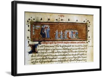 Philippe Auguste, Mid-14th Century--Framed Giclee Print