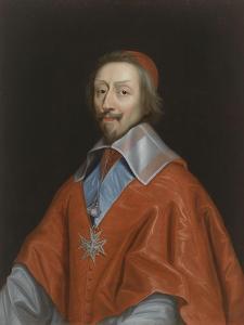 Armand-Jean du Plessis, cardinal de Richelieu (1585-1642) by Philippe De Champaigne