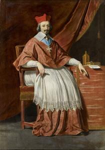 Cardinal De Richelieu by Philippe De Champaigne