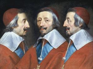Cardinal Richelieu, French Prelate and Statesman, C1642 by Philippe De Champaigne