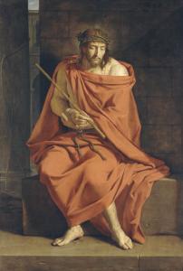 Le Christ aux outrages by Philippe De Champaigne
