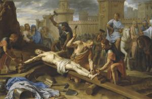 Le crucifiement by Philippe De Champaigne