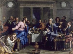 Le Repas chez Simon le Pharisien by Philippe De Champaigne