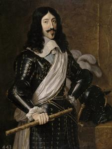 Louis XIII of France, 1655 by Philippe De Champaigne