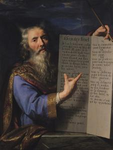 Moses with the Tablets of the Law, 1663 by Philippe De Champaigne