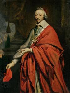 Portrait of Cardinal de Richelieu by Philippe De Champaigne