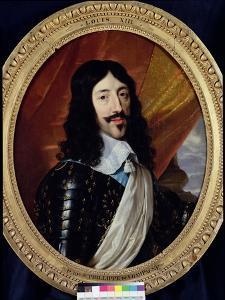Portrait of Louis XIII (1601-43) after 1610 by Philippe De Champaigne