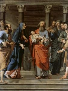 Presentation in the Temple by Philippe De Champaigne
