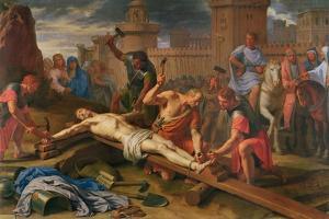 The Crucifixion by Philippe De Champaigne