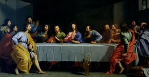 """The Last Supper, Called """"The Little Last Supper"""" by Philippe De Champaigne"""