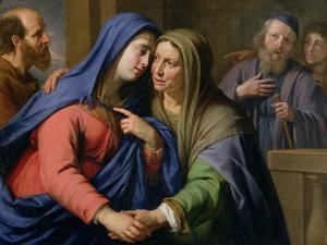 The Visitation by Philippe De Champaigne