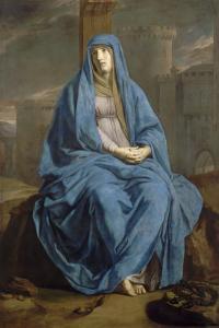 Vierge de douleur ou Mater Dolorosa by Philippe De Champaigne