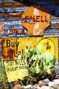 301 Miles Desert Ahead by Philippe Hugonnard
