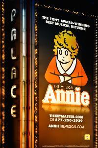 Advertising - Annie the musical - Times square - Manhattan - New York City - United States by Philippe Hugonnard