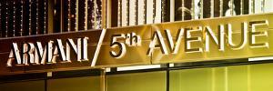 Advertising - Armani - Fifth Avenue - Manhattan - New York City - United States by Philippe Hugonnard