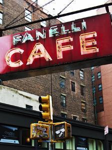 Advertising - Fanelli Cafe - Soho - Mahnattan - New York - United States by Philippe Hugonnard