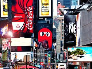 Advertising on Times Square, Manhattan, New York City, United States by Philippe Hugonnard