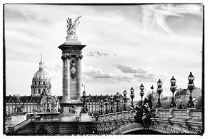 Alexander III Bridge and The Invalides - Paris - France by Philippe Hugonnard
