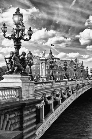 Alexander III Bridge - Paris - France