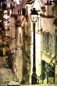 Alley in Montmartre by Philippe Hugonnard