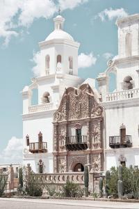 American West - White Church by Philippe Hugonnard