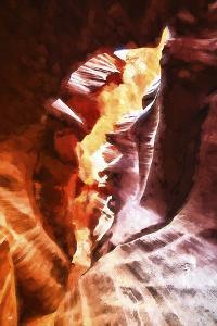 Antelope Canyon III by Philippe Hugonnard