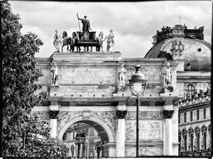 Arc De Triomphe du Carrousel, the Louvre Museum, Paris, France by Philippe Hugonnard