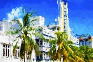 Art Deco District II - In the Style of Oil Painting by Philippe Hugonnard