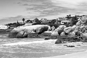 Awesome South Africa Collection B&W - Boulders Beach Cape Town by Philippe Hugonnard