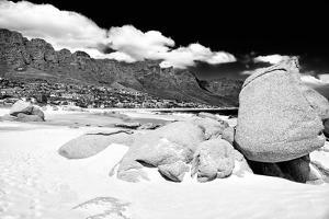 Awesome South Africa Collection B&W - The Twelve Apostles - Camps Bay by Philippe Hugonnard
