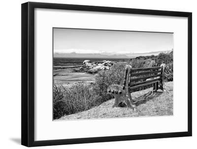 Awesome South Africa Collection B&W - View Point Bench