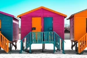 """Awesome South Africa Collection - Colorful Houses """"Seven"""" Rasberry by Philippe Hugonnard"""