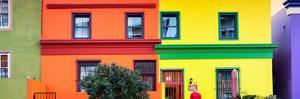 Awesome South Africa Collection Panoramic - Colorful Houses in Bo Kaap - Cape Town by Philippe Hugonnard