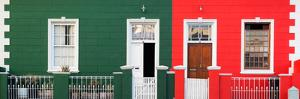 Awesome South Africa Collection Panoramic - Colorful Houses in Bo Kaap by Philippe Hugonnard