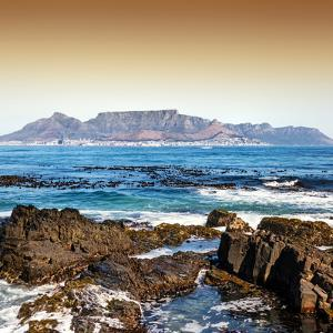 Awesome South Africa Collection Square - Cape Town seen from Robben Island by Philippe Hugonnard
