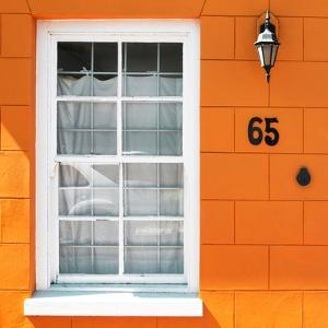 """Awesome South Africa Collection Square - Colorful House """"Sixty Five"""" Orange by Philippe Hugonnard"""