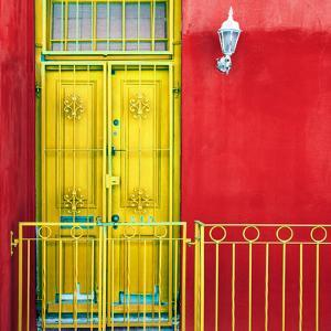 Awesome South Africa Collection Square - Colors Gateway Yellow & Red by Philippe Hugonnard