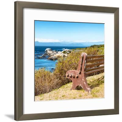 Awesome South Africa Collection Square - Lonely Bench II