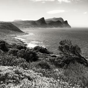 Awesome South Africa Collection Square - South Peninsula Landscape - Cape Town B&W by Philippe Hugonnard