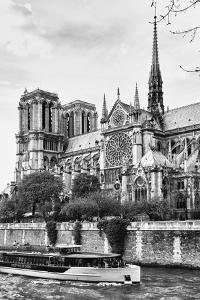 Bateau Mouche des Vedettes de Paris - Notre Dame Cathedral - Paris - France by Philippe Hugonnard
