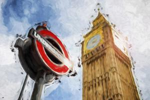 Big Ben - In the Style of Oil Painting by Philippe Hugonnard